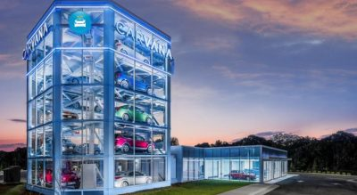 Carvana car vending machine
