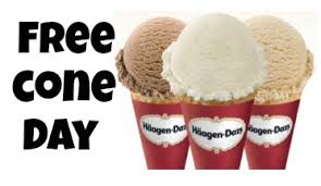 FREE Häagen Dazs Ice Cream Today - May 8th