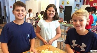 Kids' cooking studio nabs third Charlotte-area location