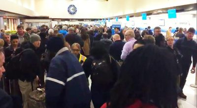 Long Lines at Charlotte Douglas After TSA Checkpoints Briefly Closed
